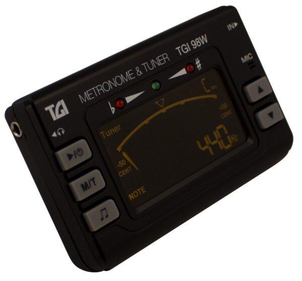 Afinador y metrónomo TGI-98W