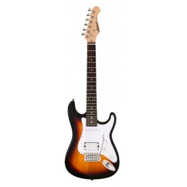 Guitarra Eléctrica Aria Stratocaster Serie STG-STV Sombreado