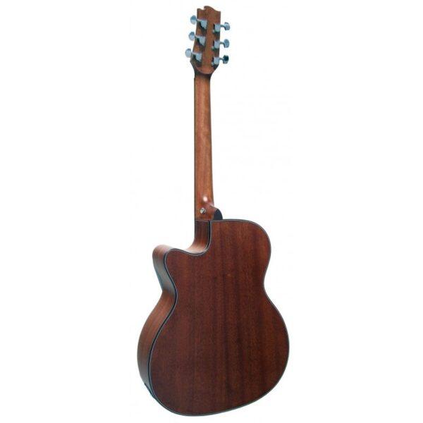Guitarra Acústica Alvarez Modelo AV-50-M Mate Vista trasera