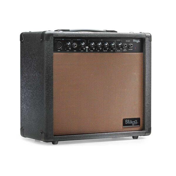 Comprar Amplificador de Guitarra Acústica Stagg 20AA R AU Reverb