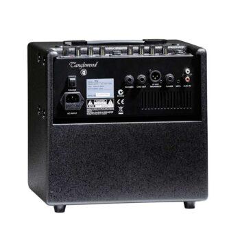 Amplificador de guitarra acustica tanglewood T-3 vista trasera