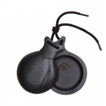 castañuela tela negra presada negra 3