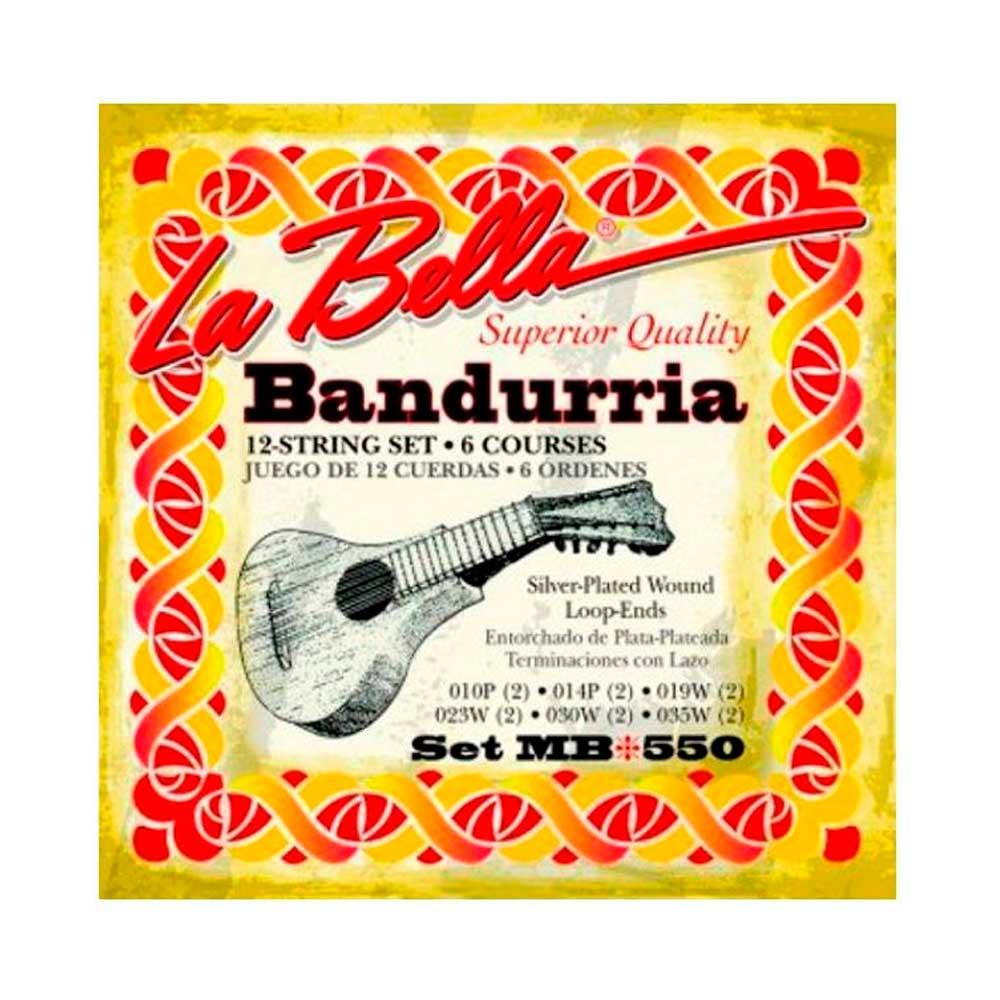 Cuerdas Bandurria La Bella Set MB-550