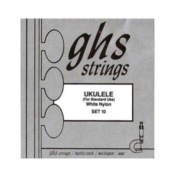 Cuerdas Ukelele Soprano GHS Set 10
