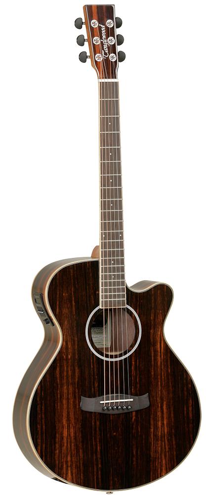 Guitarra Acústica Tanglewood Modelo DBT SFCE AEB super folk