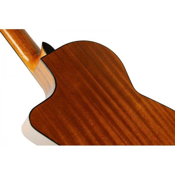 Guitarra Clásica Admira Juanita EC CUT Electrificada Vista trasera