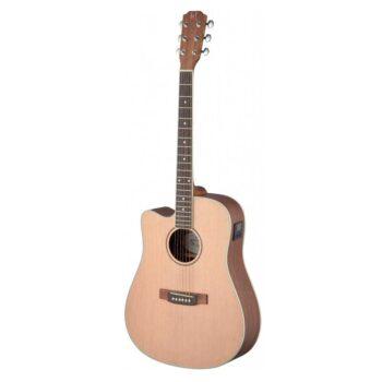 Guitarra Acústica James Neligan Modelo ASY-DCE LH Zurdos