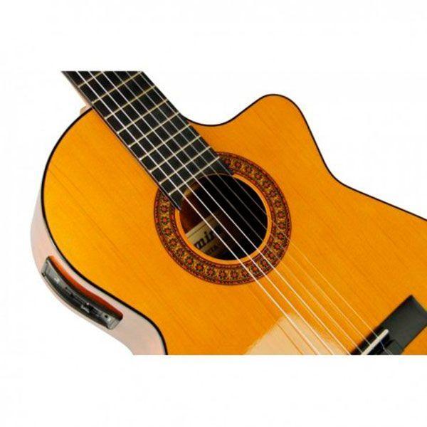 Guitarra Clásica Admira Juanita EC CUT Electrificada Vista lateral 2