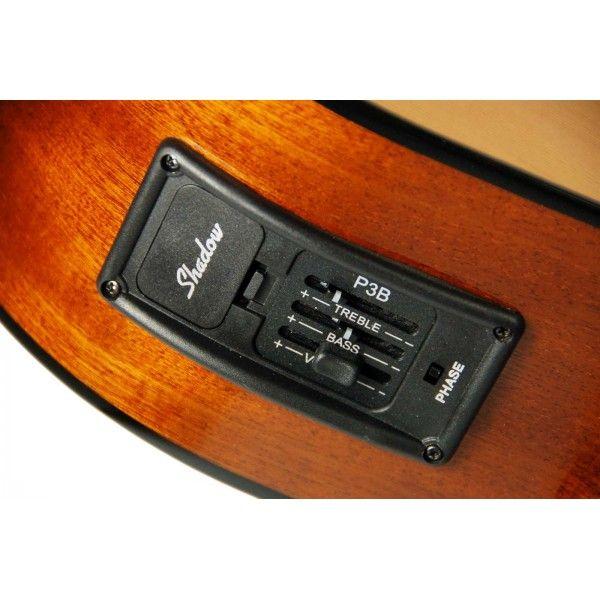 Guitarra Clásica Admira Juanita EC CUT Electrificada Vista lateral