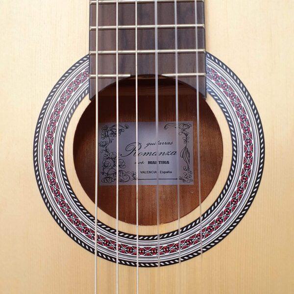 venta guitarra clasica romanza martina