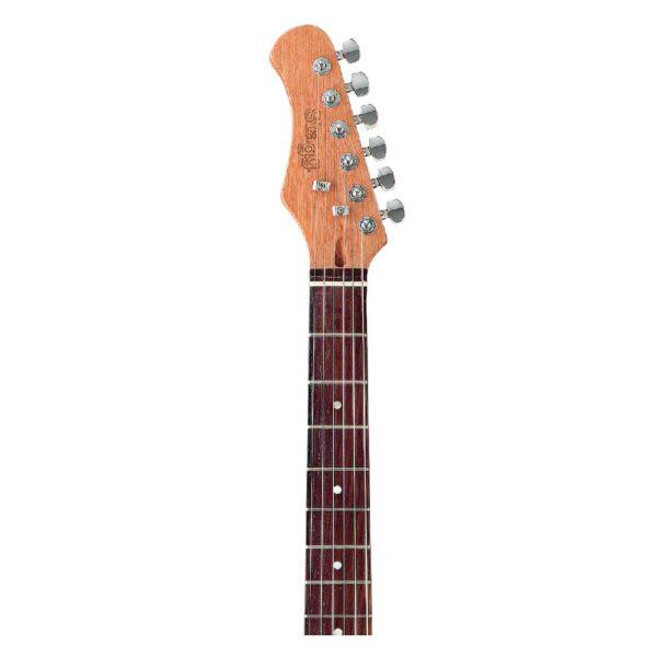 """Guitarra Eléctrica Stagg S300LH-SB """"S"""" para zurdos"""
