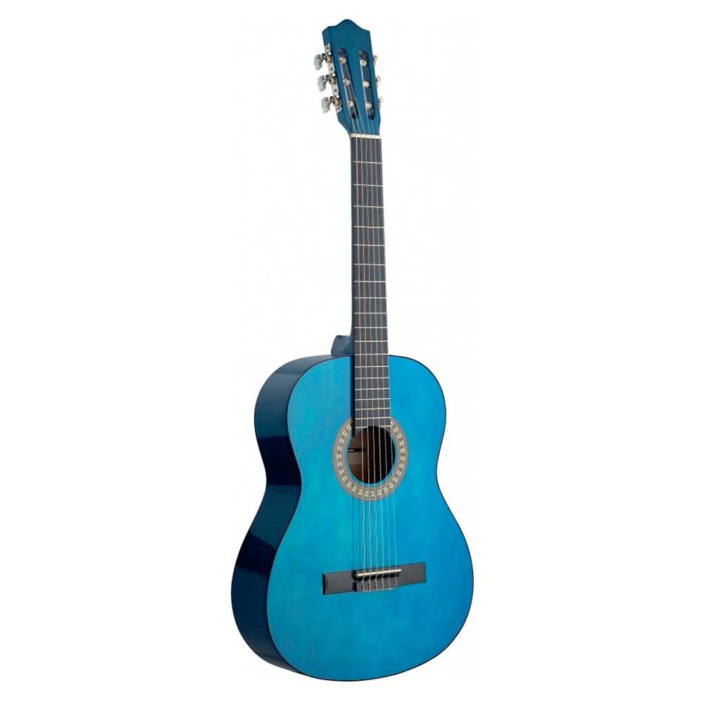 Guitarra Española Stagg Modelo C440 Azul