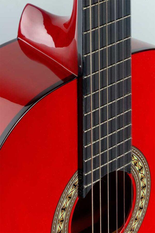 Guitarra Española Stagg Modelo C40m Red Roja Boca