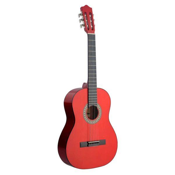 Guitarra Española Stagg Modelo C40m Red Roja