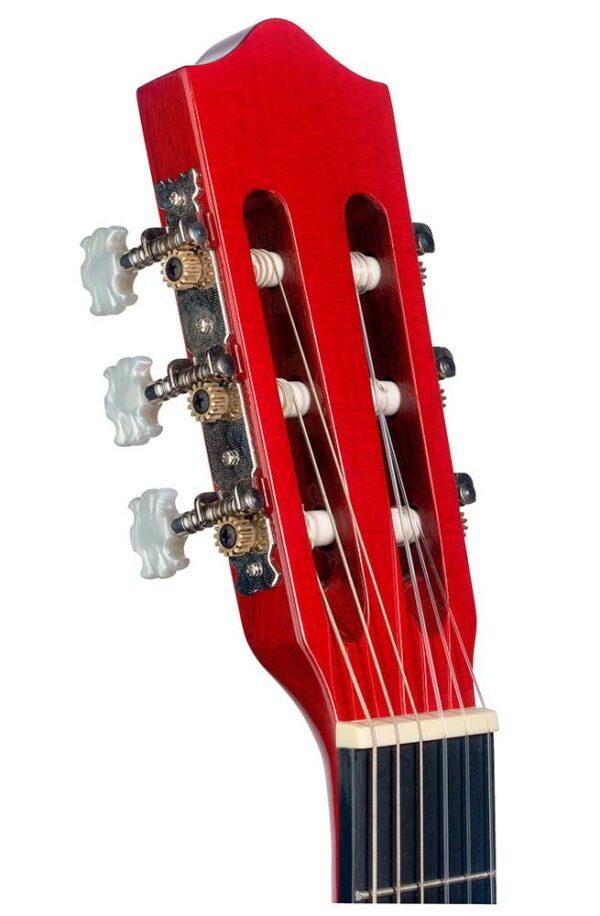 Guitarra Española Stagg Modelo C40m Red Roja Clavijero