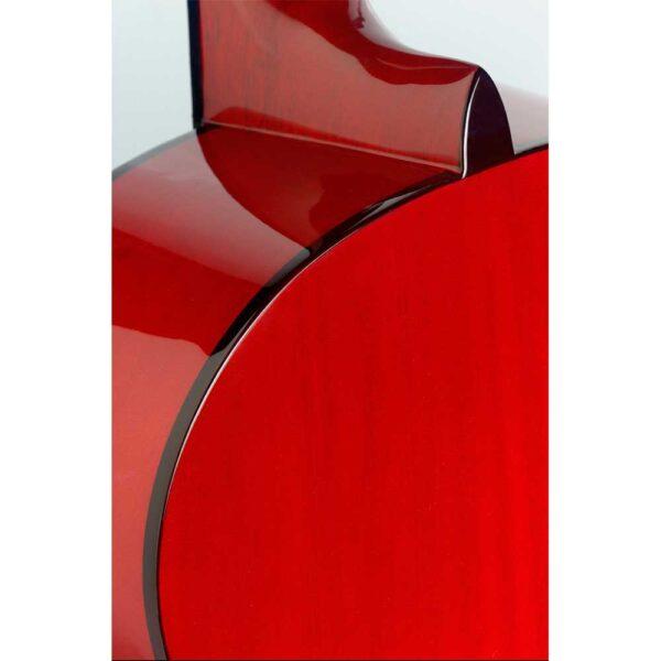 Guitarra Española Stagg Modelo C40m Red Roja Trasera