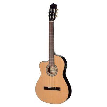 Guitarra Clásica Stagg C5467CE-LH N Electrificada Zurdos