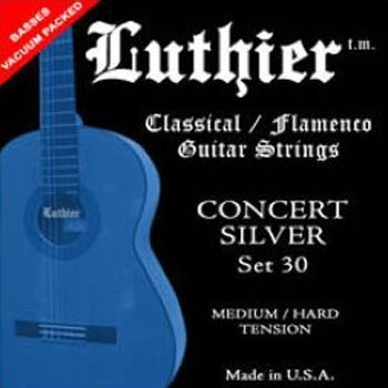 cuerdas de guitarra clásica luthier strings